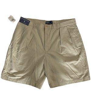 NWTRalph Lauren Khaki Taylor Shorts, Men's Size 42